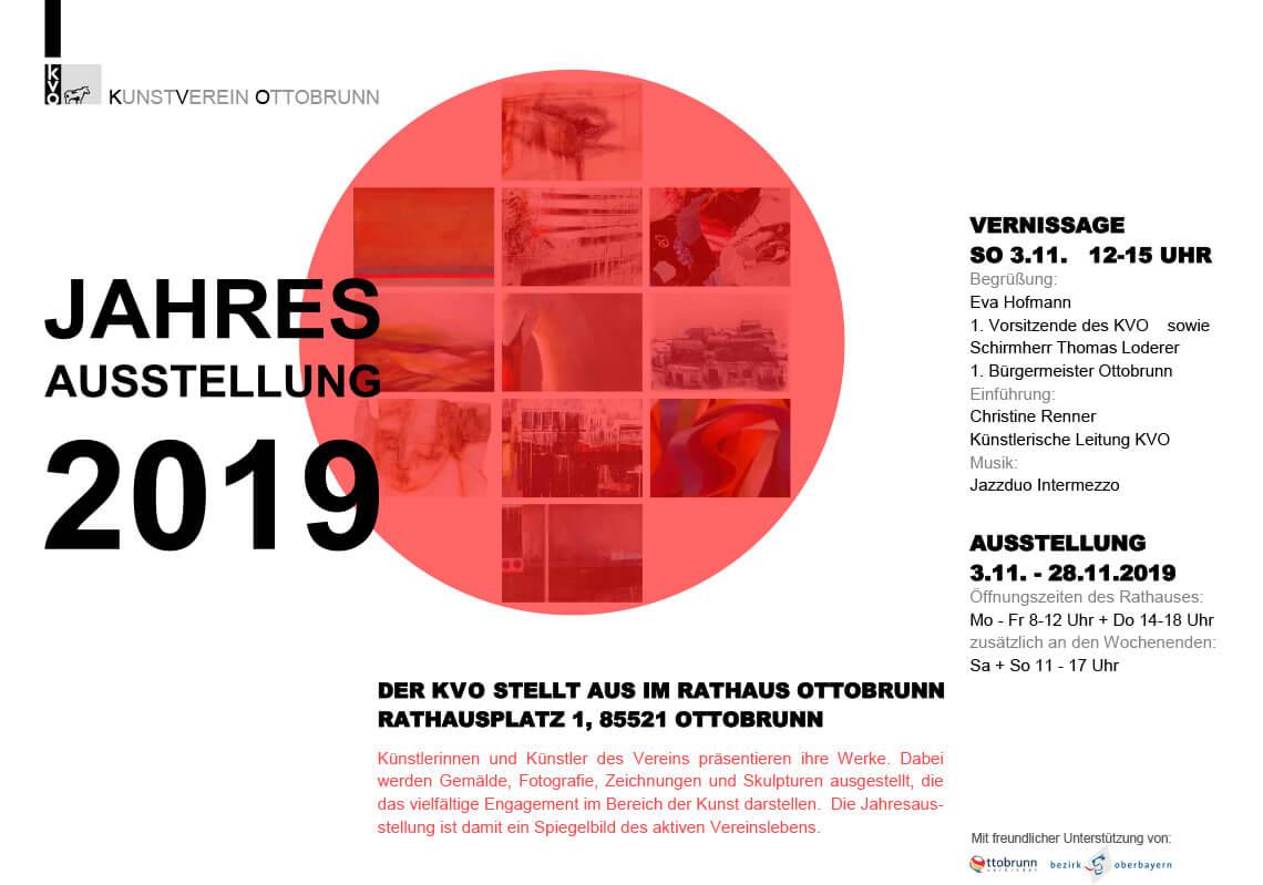 Jahresausstellung Ottobrunn 2019
